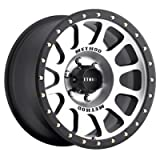 Method Race Wheels NV Black Wheel with Machined Face (17x8.5''/8x170mm) 0 mm offset