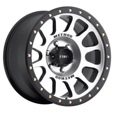 Method Race Wheels NV Black Wheel with Machined Face (17x8.5''/8x170mm) 0 mm offset by Method Race Wheels (Image #1)