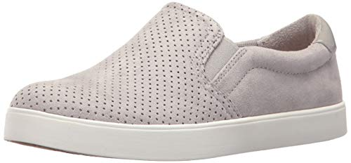 Dr. Scholl's Shoes Women's Madison Sneaker, Grey Cloud Microfiber Perforated, 7.5 M US (Target Women)