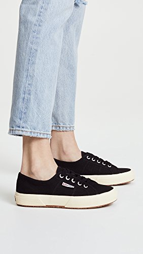 Women's Sneaker Superga Black 2750 Cotu 8YWgOq