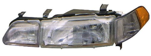 Acura Integra Headlight Assembly (Depo 317-1112R-ASC Acura Integra Passenger Side Replacement Headlight Assembly with Corner Light)