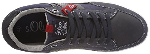 s.Oliver Men's 13636 Low-Top Sneakers Blue (Navy Comb.) outlet enjoy nYA0TbOjKH