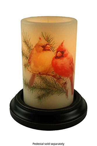 CR Designs Cardinal Pair Candle Sleeve