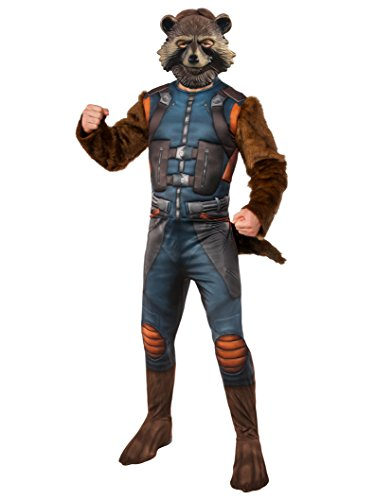 Rubie's Men's Guardians of The Galaxy Rocket Raccoon Costume, Multi Color, Standard ()