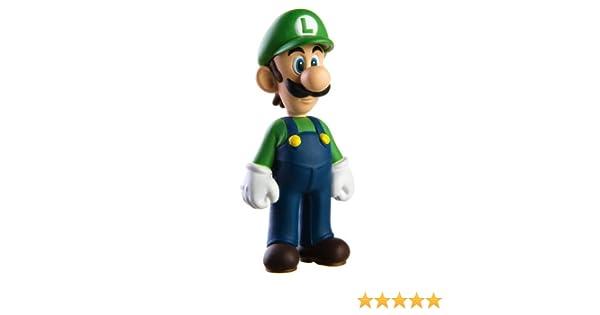 Super Mario 12cm LUIGI Figura de Juguete Sombrero Verde: Amazon.es ...