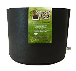 Smart Pots 10-Gallon Smart Pot Soft-Sided Container, Black Garden, Lawn, Supply, Maintenance