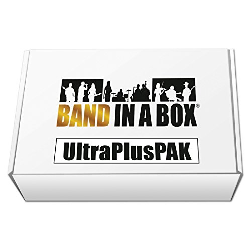 (Band-in-a-Box 2017 UltraPlusPAK [Old Version, Mac USB Hard Drive])