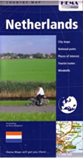 Michelin Netherlands Map 715 (Maps/Country (Michelin)): Michelin ...