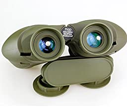 COMET 10x50 HD Military Binoculars with Rangefinder Compass Telescope Nitrogen Filled Waterproof Sports Optics