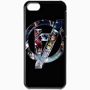 diy phone casePersonalized iphone 4/4s Cell phone Case/Cover Skin The Avengers Super Heroes Movies Tv Blackdiy phone case