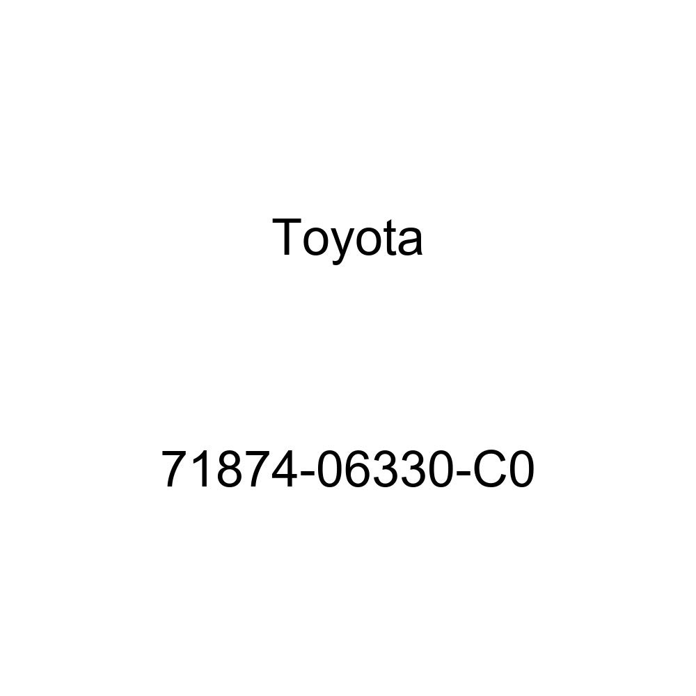 TOYOTA Genuine 71874-06330-C0 Seat Cushion Shield
