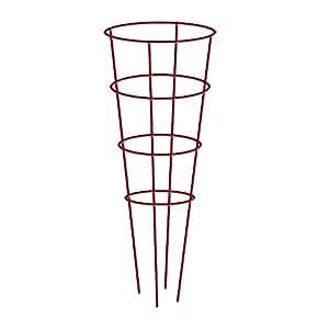 "Gilbert & Bennett 901592RE-5 5 Pack of Red 54"" Galvanized Tomato Cage"