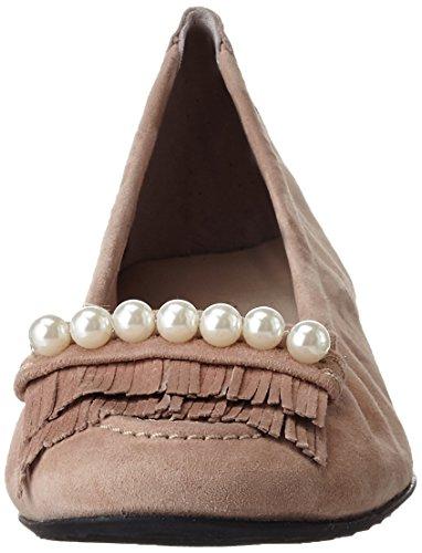 Kennel UND Schmenger Schuhmanufakturmalu - Bailarinas Mujer Beige (rosette/pearl)