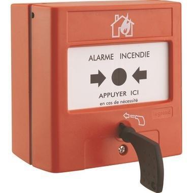 Pulsador de membrana para equipo de alarma de incendios ...