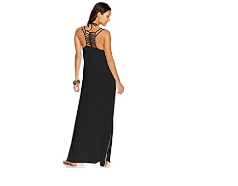 e3471d7242292 Image Unavailable. Image not available for. Color  Raviya Laddder-Back Maxi  Dress Cover-Up Women s Swimsuit Medium