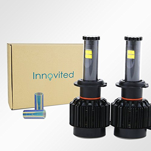 Innovited All In One LED Headlight Conversion Kit - H7 - 6000K 80W 7,200Lm With CREE Bulbs - 2 Year Warranty