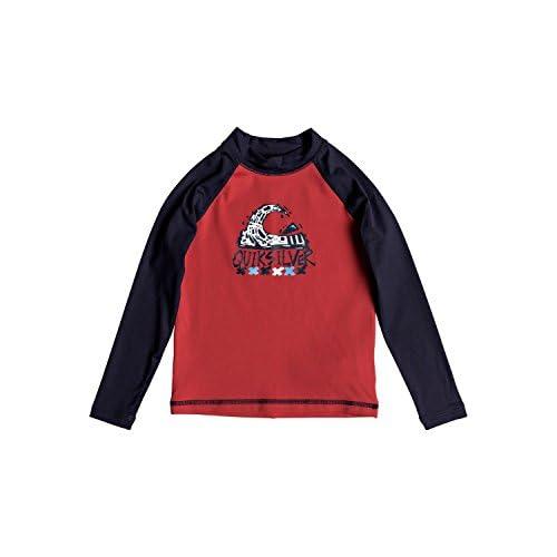 cheap Quiksilver Boys Bubble Dream - Long Sleeve Upf 50 Rash Vest Long Sleeve Upf 50 Rashguard get discount