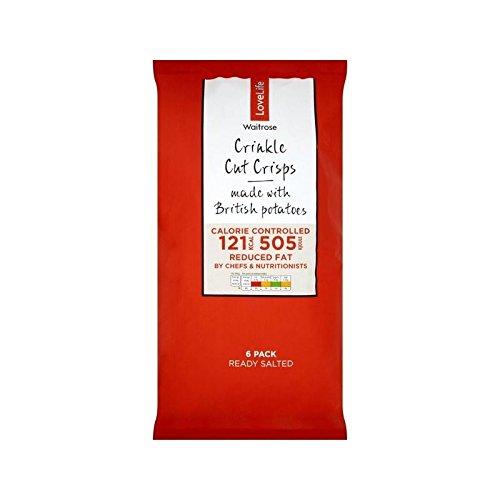 Lightly Salted Waitrose Love Life 25g x 6 per pack - Pack of 6