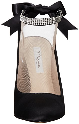 Black champagne Dress Champagne Pump Rosana Nina Women's Black qg0wI6qTx