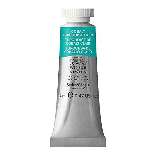 (Winsor & Newton Professional Water Colour Paint, 14ml tube, Cobalt Turquoise Light)