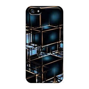 Premium Phone Case For ipod touch5/ Cube Tpu Case Cover