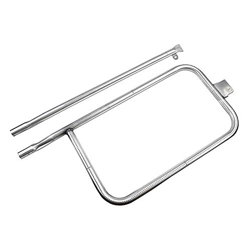 Utheer 65032 Grill Burner Tube 23.75 inch for Weber Q300, Q320, Q3000, Q3200, 404341, 57060001, 586002, Gas Grill Parts Replacement for Weber 65032, 13122, 60036, 80385