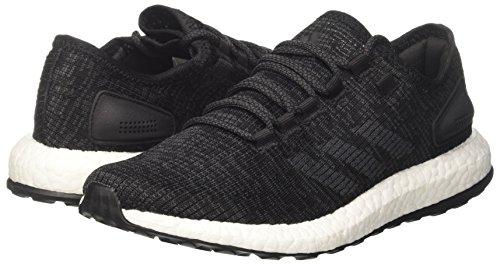 Pureboost Running Zapatillas 40 Grey Black Negro Eu Dgh Solid Hombre De core Adidas qR6Bwdxq