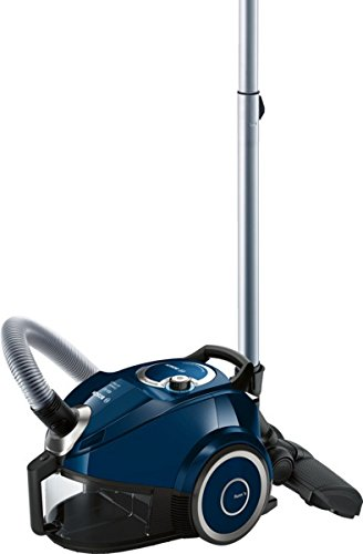 Bosch BGS4ALLGB Compact All Floor 2 Bagless Cylinder Vacuum Cleaner, 1.9 L - Blue