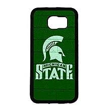 Spistyler, Samsung Galaxy S6 Case Michigan State Spartans Logo Print Fashionable Cover
