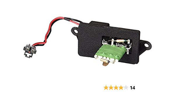 HVAC Blower Motor Resistor-Resistor Block Front 4 Seasons 20355