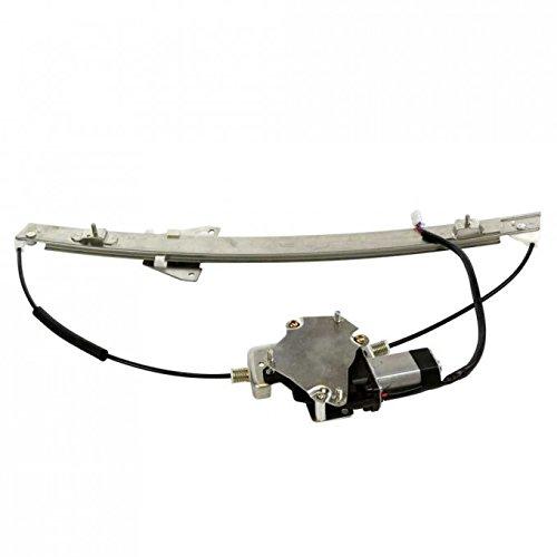 VIOJI 1pc Front Driver Left FL LH Side Power Glass Window Regulator with Motor for 00-06 Mazda -
