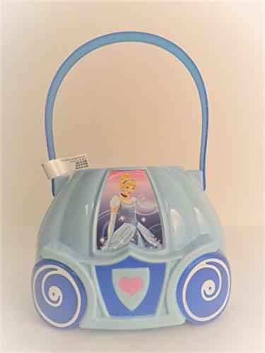 Disney Cinderella Favor Bucket (Disney Cinderella - Figural Plastic Bucket - Children Candy & Popcorn Bucket)