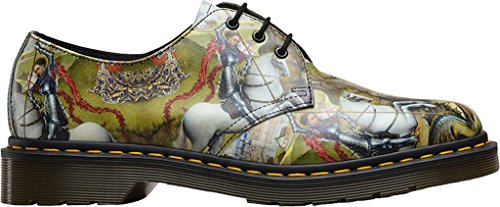 George Womens 1461 Backhand 3 Shoes and Dr Dragon Leather Martens Eyelet gXqOxE5w