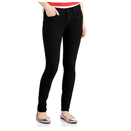 No Boundaries Juniors Classic Skinny Blue Jean Pants (11, Black) from No Boundaries