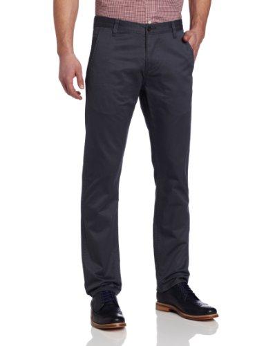 Dockers Men's Alpha Khaki Slim Tapered Flat Front Pant, Hurricane, 30x30