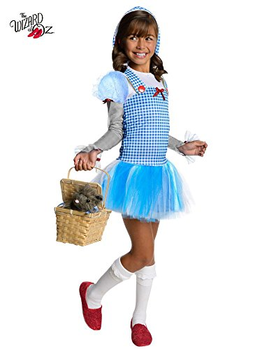 Rubies Wizard of Oz Dorothy Hoodie Dress Costume, Child Medium]()