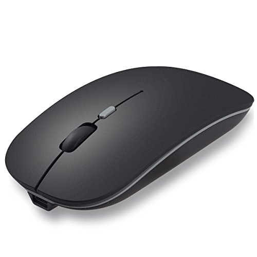 Wireless 2.4G Receiver Ultra-thin Optical Mouse - 2