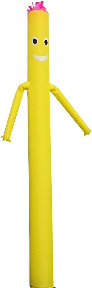 The American Flag 20ft Inflatable Dancer Puppet Arm Flailing Tube Man Wacky Wavy Wind Flying Stand Out Advertising Sky Air No 18in Blower