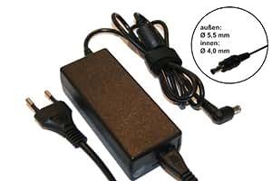 vhbw 220V Notebook fuente de alimentación para Samsung 300V5A, E152, E172, E251, E271, E272, E352, M60, M70 por AD-6019, AD-4019R.
