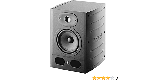 Focal Alpha 50 Active Two Way Near Field Professional Monitoring Loudspeaker ...