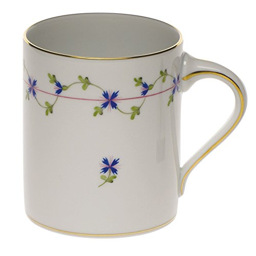 Herend China Blue Garland Coffee Mug by Herend