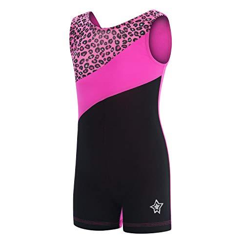 GK Stars Biketard For Girls | Dance & Gymnastics(Cheetah Power)