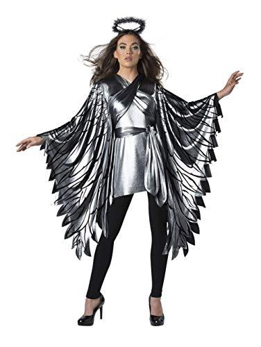 InCharacter Fallen Angel Poncho Women's Costume (One ()