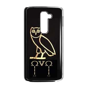 LG G2 Cell Phone Case Black_Drake Ovo Owl_002 T8Z0X