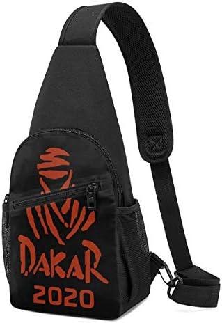 Dakar Rally 2020 ワンショルダーバッグ 斜めがけ 胸 かばん肩掛けバッグ 財布 通勤 お出かけ ボディバッグ トップハンドルサッチェル 美しい バッグ ショルダーベルト 防水 撥水 軽量 収納可能 男女兼用