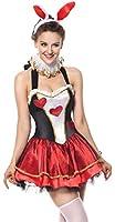 Killreal Women's Tea Party Bunny Plus Size Costume