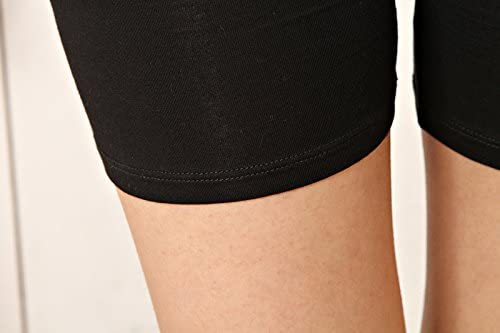 Liang Rou des Femmes Spandex Leggings Courts 2-Pack