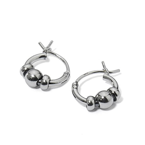 Sterling Silver Endless Earrings Unisex
