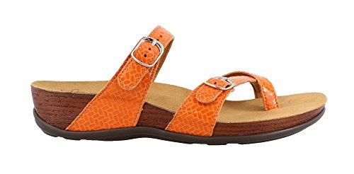SAS Women's, Shelly Slide On Sandals Clementine 7 - Clementine San