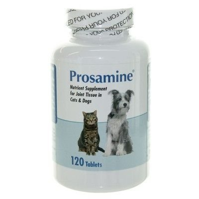 Prosamine For Dogs & Cats, 120 Chewable Tablets (Dog Tablets 120)